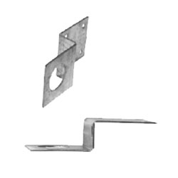 Penetrator Z-bracket for securing 2x4 lumber