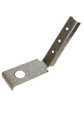 60-degree angle slant bracket
